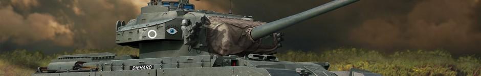 Centurion Mk5 ( box art for Amusing Hobby )