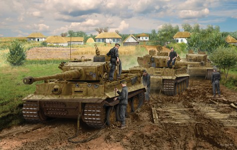 Pz.Kpfw.VI ( box art for Rye Field Model )