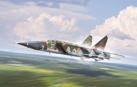 MiG-25BM ( box art for ICM )