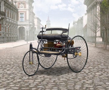 Benz Patent-Motorwagen ( box art for ICM )