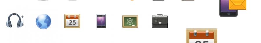 Иконки в навигацию (UPD)