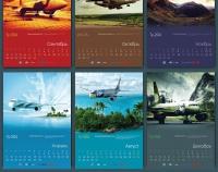 Как-то делал календарик для одной, довольно-таки известной компании
