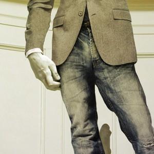 Печатная реклама «Depo jeans».