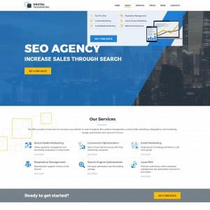 Дизайн для SEO агентства 3