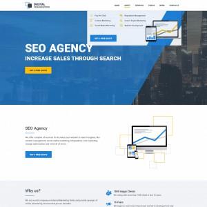 Дизайн для seo агентства  2