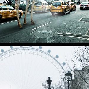 такси в NY и  Лондоне
