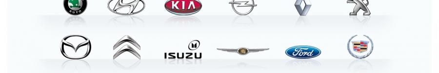 Набор логотипов авто