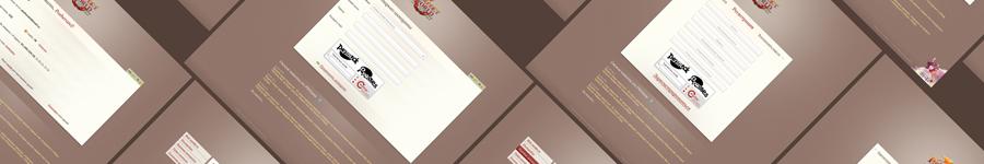 Дизайн веб-интерфейса личного кабинета игрового портала.
