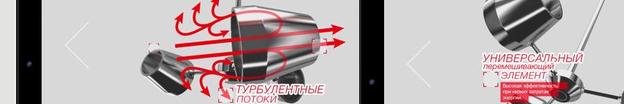ViscoJet — Россия. Небольшой сайт с обратной анимацией в слайдере