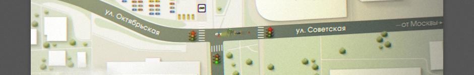 Схема проезда для магазинчика штор