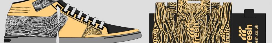 Дизайн на конкурс BoxFresh