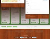 Концепция и дизайн сайта У озера