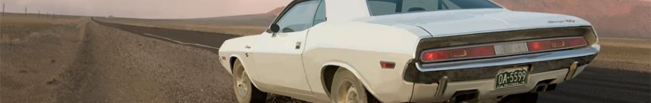 Отрисовка / перерисовка Dodge Challenger по кадру из фильма