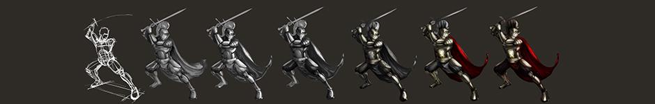 Рисунок Рыцаря