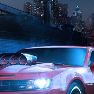 Chevrolet Camaro, коллаж