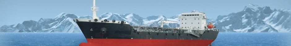 Отрисовка нефтяного танкера