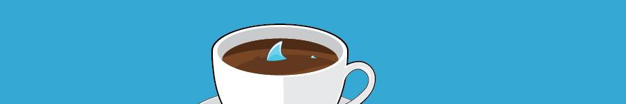 Акула в чашке