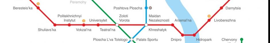 Логотип Метрополитена Киева