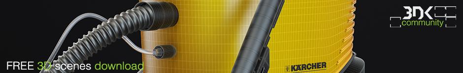Vacuum Cleaner 5-я бесплатная 3D сцена