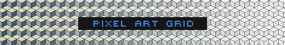 Выкладываю в общее пользование сетку для рисования пиксель арта