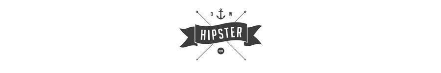 Хипстерский стиль в вебе
