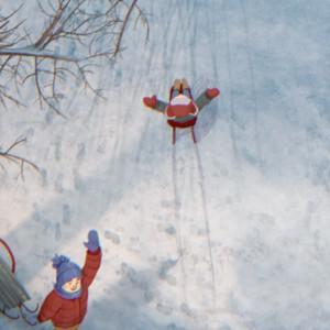 Набор зимних открыток