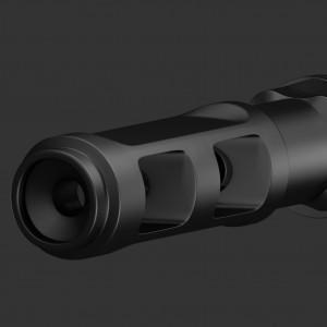 Ствол снайперской винтовки / Будьте осторожны