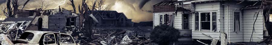 След торнадо