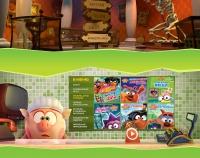 Смешарики. Сцены для сайта