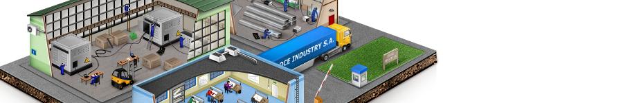 Иллюстрация для сайта одного завода 2