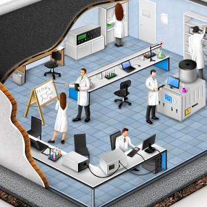Иллюстрация для сайта одного завода