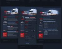 Макет сайта. Кредо