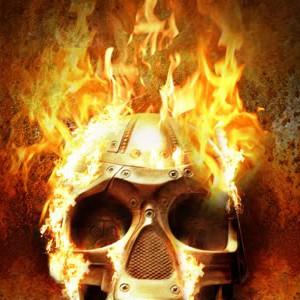 Череп в огне