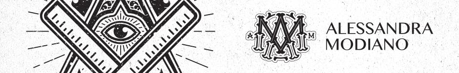 Логотип для бренда Alessandra Modiano