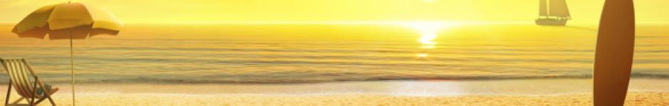 Закат. Картинка на сайт.