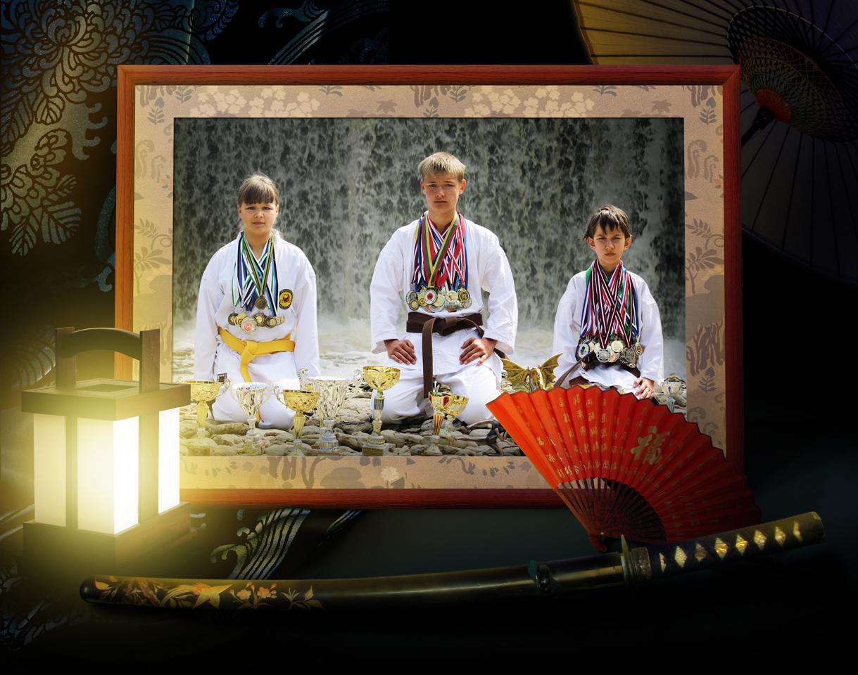 Картинка для плаката про каратэ