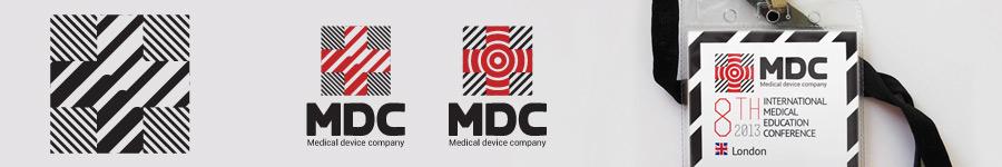Логотип и фирмстиль для Medical device company (MDC)