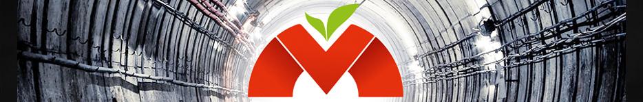 Логотип - Алматинское метро